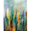 "Portfolio Canvas Decor ""Steel Rising"" Painting Print on Wrapped Canvas"