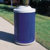 Wausau Tile Inc City Metal Waste Container