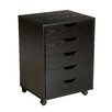 Zipcode Design Riley 5 Drawer Mobile File Cabinet