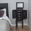 Zipcode Design Jewelry Armoire with Mirror