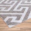 Zipcode Design Gray & White Area Rug