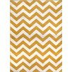 Zipcode Design Yellow Chevron Area Rug