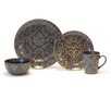 <strong>Baum</strong> Damask 16 Piece Dinnerware Set