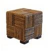 Baum Abaca Cube Ottoman
