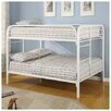 <strong>Sacramento Full over Full Bunk Bed with Built-In Ladder</strong> by Wildon Home ®