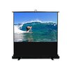 "MaxWhite ezCinema Plus Series Floor Stand Scissor Pull Up Projector Screen - 100"" Diagonal"