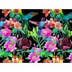 Palm Valley Tiger Lilly Graphic Art in Black