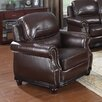 Flair Swain Bonded Leather Chair