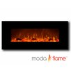 Moda Flame Houston Wall Mounted Electric Fuel Fireplace