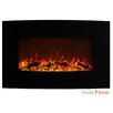Moda Flame Chelsea Curved Wall Mounted Electric Fireplace