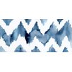 Mai Autumn Ikat Chevron by Christine Lindstrom Painting Print on Canvas