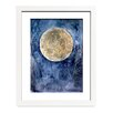 Mai Autumn Moon Garden by Christine Lindstrom Framed Painting Print