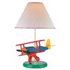 "Lite Source Airplane Toy 22"" H Table Lamp with Empire Shade"