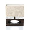 """Lite Source Pierre 13.5"""" H Table Lamp with Rectangle Shade"""