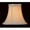 "<strong>Lite Source</strong> 6"" Shantung Chandelier Bell Shade"
