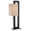 """Lite Source Benito 30.5"""" H Table Lamp with Rectangle Shade"""