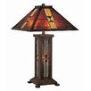 """Lite Source Farah 25.5"""" H Table Lamp with Empire Shade"""