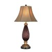 """Lite Source Torsion Rhoda 32"""" H Table Lamp with Bell Shade"""