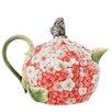 Edie Rose Hydrangea 1.13-qt. Teapot