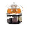 Longden Enterprises Inc Infusions Large Glass Tea Rack Set