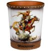 Rockin' W Brand Winchester Horse and Rider Trash Can