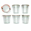 ACME Party Box Company Weck .5L Mold Jar (Set of 6)