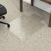 Dimex Fold-N-Go Low Pile Carpet Edge Straight Chair Mat