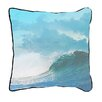 ModShop Washed Out Wave Pillow