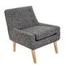 Home Loft Concept Reese Tufted Fabric Retro Side Chair