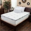 Home Loft Concept Dual-layer Gel-infused Memory Foam Mattress Topper