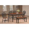 Hazelwood Home 6 Piece Dining Set