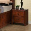 Hazelwood Home 2 Drawer Nightstand