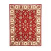 Andover Mills Attucks Red Area Rug