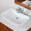 <strong>Grade A Ceramic Finsbury Shaped Bowl Vessel Bathroom Sink</strong> by Elite