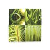 Graham & Brown Graham and Brown Leaf Quad 4 Piece Photographic Print on Canvas Set
