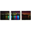 Graham & Brown Portfolio City Reflections 3 Piece Photographic Print on Canvas Set