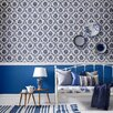Graham & Brown Hermitage 56 Sq Ft Costello Damask Wallpaper