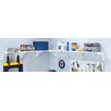 EZ Shelf from Tube Technology Expandable Garage Shelf Kit with 2 Shelves