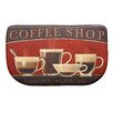 Bacova Guild Standsoft Coffee Shop Mini Check Slice Mat