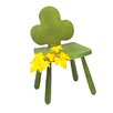 Playscapes Leaf Clover Kids Novelty Side Chair