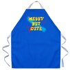 <strong>Attitude Aprons by L.A. Imprints</strong> Messy But Cute Apron in Royal