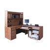 Forest Designs Computer Desk and Return