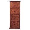 Forest Designs 4-Drawer File Cabinet