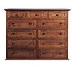 Forest Designs 11 Drawer Dresser