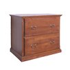 Forest Designs 2-Drawer Lateral File Cabinet