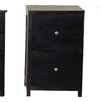 Forest Designs 2 Drawer File Cabinet