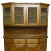 "Forest Designs Angled 42"" H x 61"" W Desk Hutch"