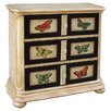Artistic Expressions 3 Drawer Hall Chest