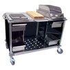 Cadco Mobile Cooking Cart