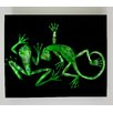 <strong>X-ray Designs Lizard and Frog Graphic Art Plaque</strong> by Radiant Art Studios